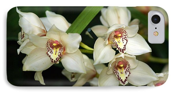 Orchid 3 Phone Case by Marty Koch