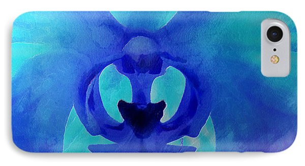 Orchid Blessing IPhone Case by Krissy Katsimbras