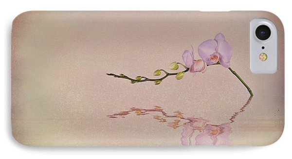 Orchid Blooms And Buds IPhone 7 Case by Tom Mc Nemar