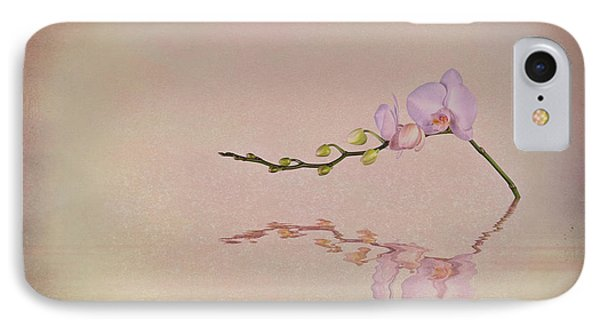 Orchid Blooms And Buds IPhone Case by Tom Mc Nemar