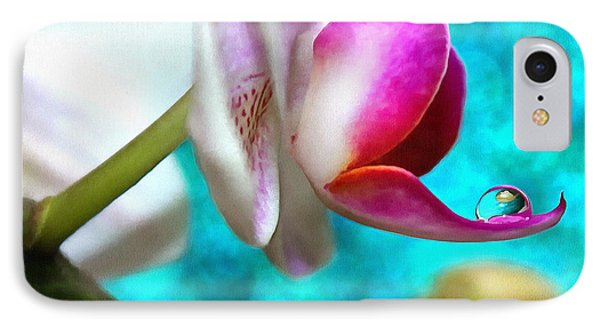 Orchid Delicacy IPhone Case by Krissy Katsimbras
