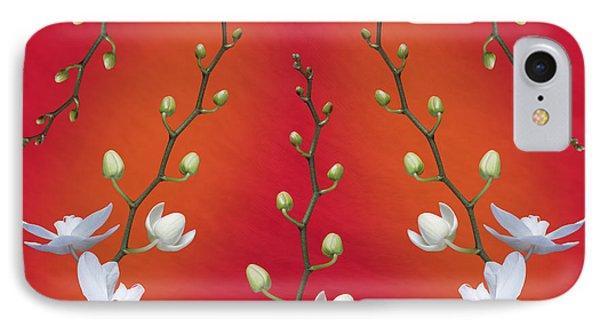 Orchid Ensemble IPhone 7 Case by Tom Mc Nemar