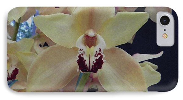 IPhone Case featuring the photograph Orchid Impression by Manuela Constantin