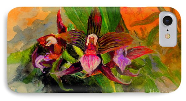 Orchid IPhone Case by Jason Sentuf