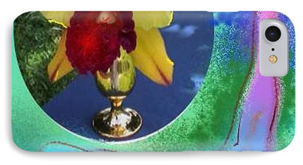 IPhone Case featuring the photograph Orchid Keeper by The Art of Alice Terrill