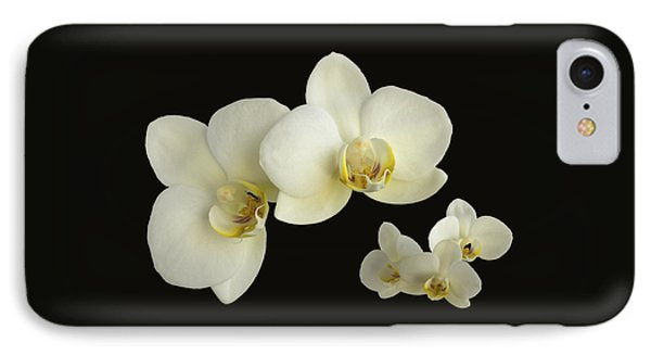 Orchid Montage IPhone Case by Hazy Apple
