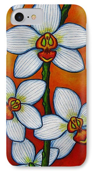 Orchid Oasis Phone Case by Lisa  Lorenz