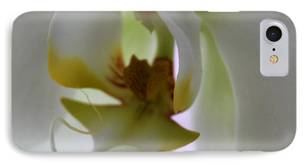 Orchid Of Glory IPhone Case by Krissy Katsimbras