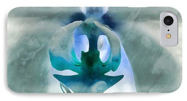 Orchid Of Wisdom IPhone Case by Krissy Katsimbras