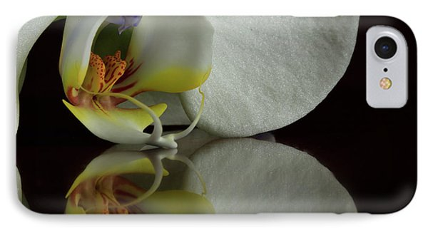 Orchid Reflected IPhone Case