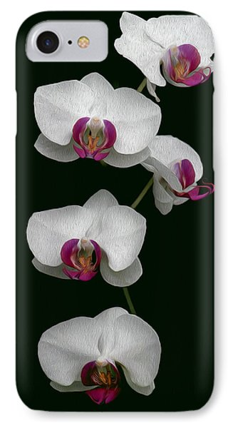 Orchid Sequence  IPhone Case