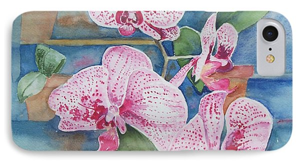 Orchids IPhone Case by Christine Lathrop