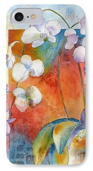 Orchids In Bend IPhone Case by Pat Katz