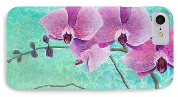Orchids In Pink Phone Case by Arlissa Vaughn