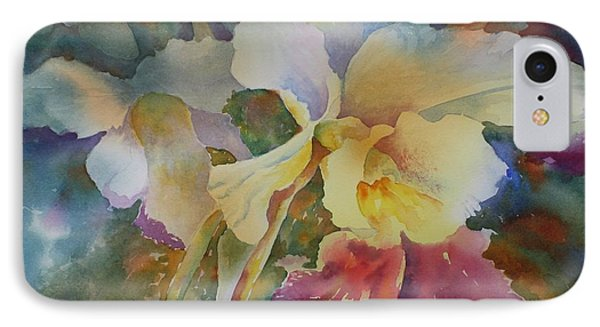 Orchidstrated IPhone Case