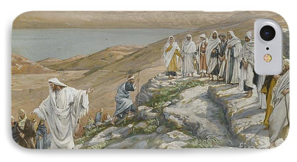 Ordaining Of The Twelve Apostles Phone Case by Tissot