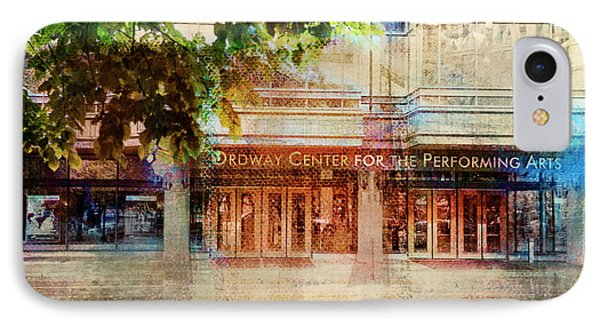 Ordway Center IPhone Case by Susan Stone