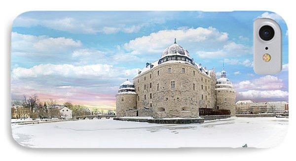 Orebro Castle IPhone Case by Marius Sipa