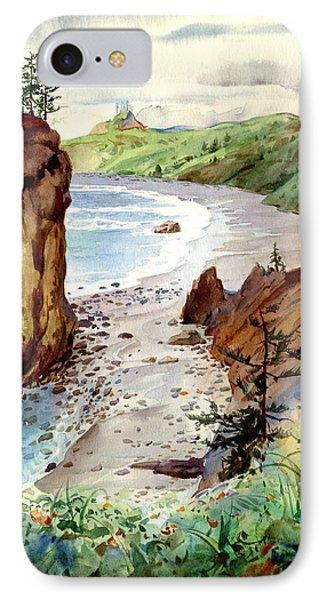 Oregon Coast #3 IPhone Case by John Norman Stewart