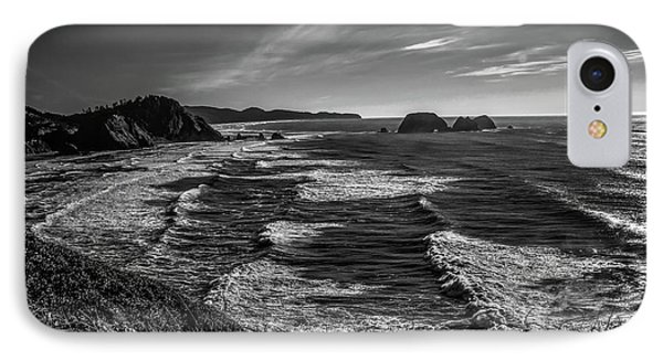 Oregon Coast At Sunset Phone Case by Jon Burch Photography