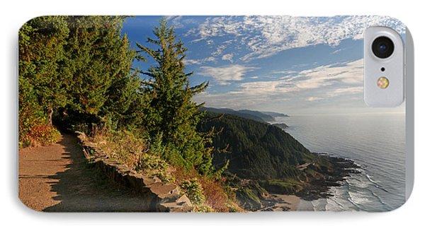 IPhone Case featuring the photograph Oregon Coast Cape Perpetua View by Lara Ellis