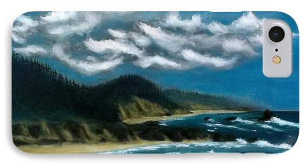 Oregon Coast IPhone Case by John Lyes