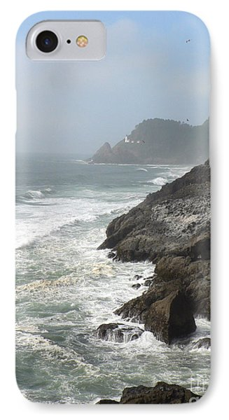 IPhone Case featuring the photograph Oregon Coast by Larry Keahey