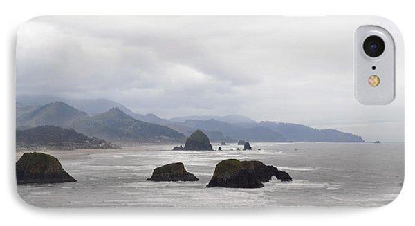 Oregon Coast Mountain Clouds Landscape IPhone Case by Andrea Hazel Ihlefeld