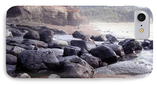 Oregon Coast Rocks IPhone Case by Molly Williams