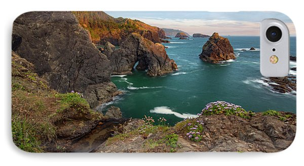 IPhone Case featuring the photograph Oregon Coastal Scenic by Leland D Howard