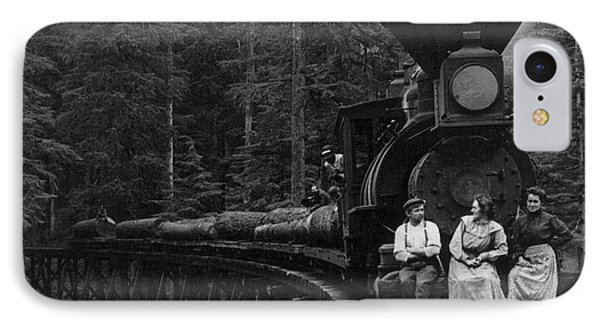 Oregon: Logging Train Phone Case by Granger