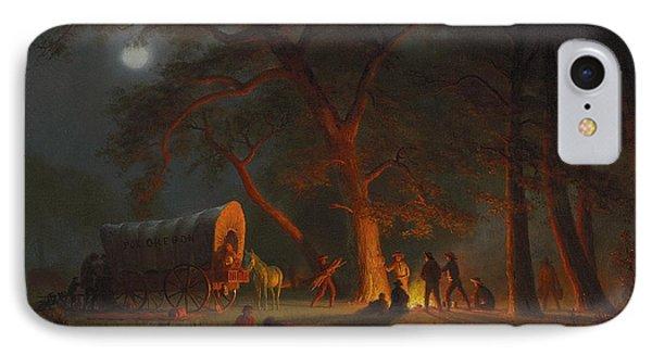 Oregon Trail Phone Case by Albert Bierstadt