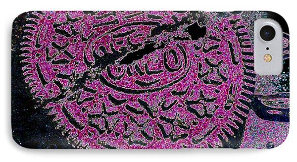 Oreo In Pink Phone Case by Nancy Mueller