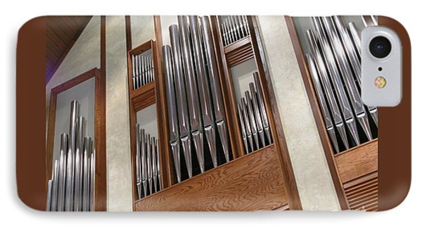 IPhone Case featuring the photograph Organ Pipes by Ann Horn