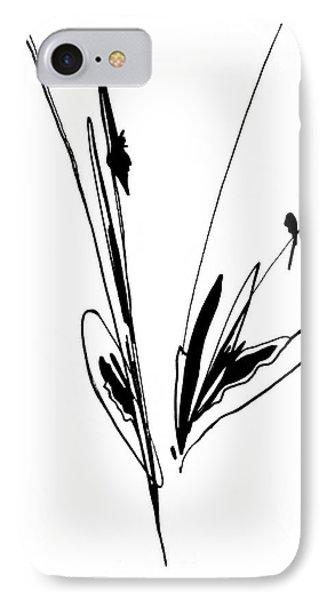 Organic Lines #11 IPhone Case