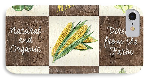 Organic Market Patch IPhone 7 Case by Debbie DeWitt