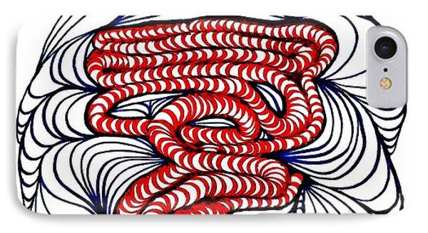 Organic Maze Phone Case by Sarah Loft