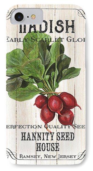 Organic Seed Packet 3 IPhone 7 Case by Debbie DeWitt