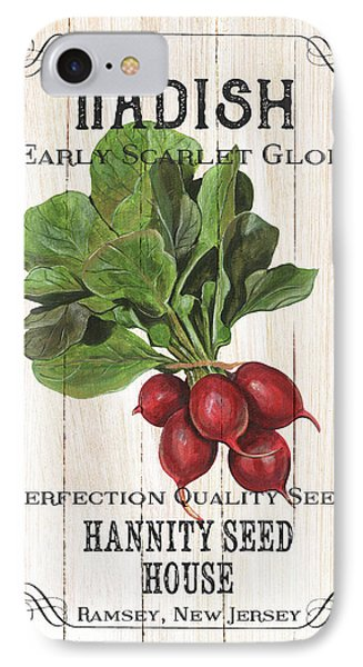 IPhone Case featuring the painting Organic Seed Packet 3 by Debbie DeWitt