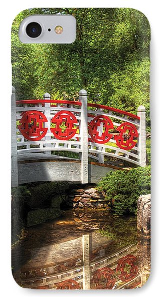 Orient - Bridge - Tranquility Phone Case by Mike Savad