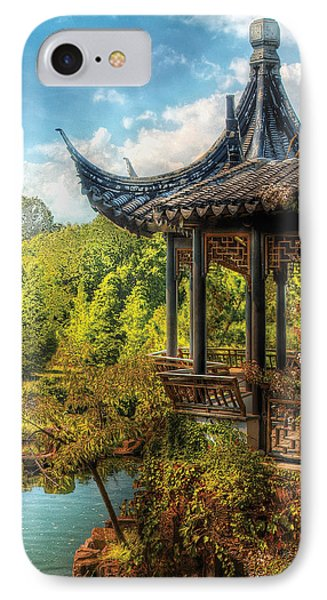 Orient - From A Chinese Fairytale Phone Case by Mike Savad