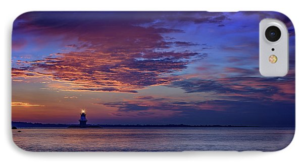 Orient Point Lighthouse At Sunrise IPhone Case