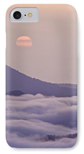 Oriental Blue Ridge Sunrise Phone Case by Rob Travis