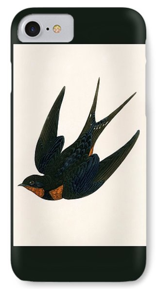 Oriental Chimney Swallow IPhone 7 Case by English School