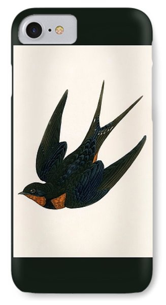 Oriental Chimney Swallow IPhone Case by English School