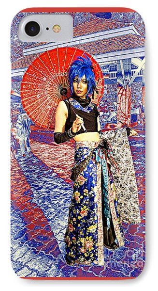 Oriental Cosplayer IPhone Case by Ian Gledhill