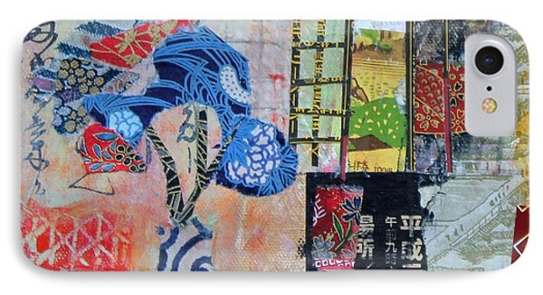 Oriental Interior IPhone Case by Sylvia Paul