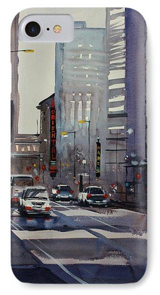 Oriental Theater - Chicago IPhone Case by Ryan Radke