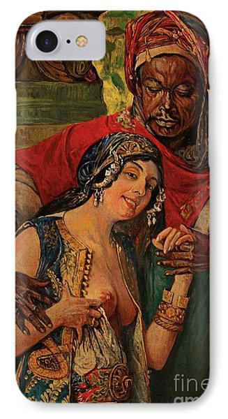 IPhone Case featuring the painting Orientalisches Paar  by Pg Reproductions