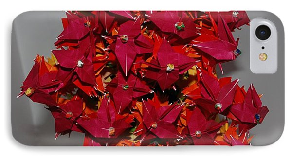Origami Flowers Phone Case by Rob Hans